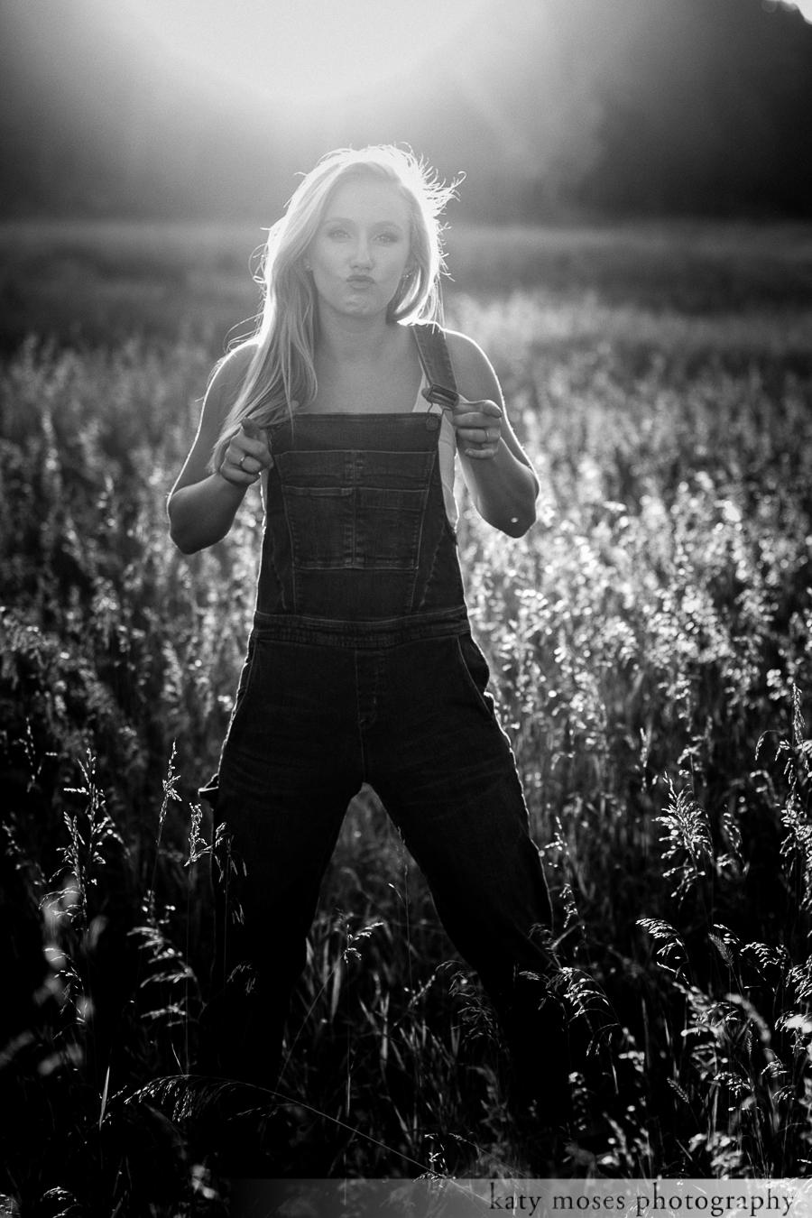 Dakota Rouse Backlit Overalls