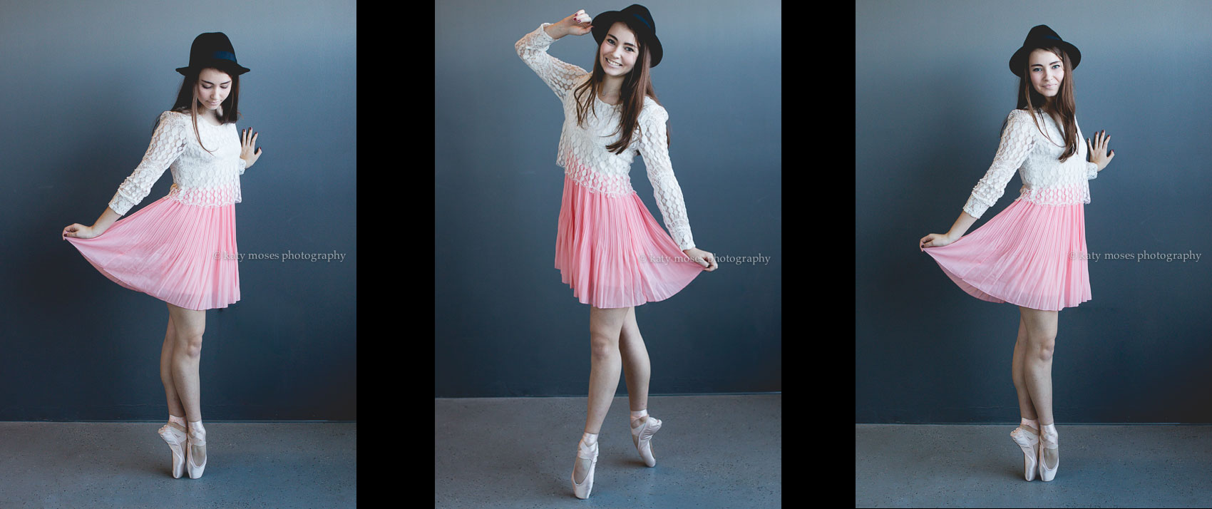 high school senior ballerina
